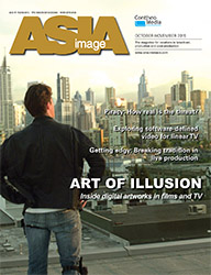 Cover of Asia Image Magazine!
